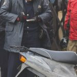 【自転車は歩道を走りなさい!それが法律です!】←なぜか激怒する原付を警察へ。