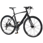 【2018年モデル】MERIDAのGRANSPEED 250MD。かなり個性的なクロスバイクに見えるが・・・
