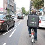ウーバーイーツの自転車と、一般人のママチャリは運転マナーは変わらない。